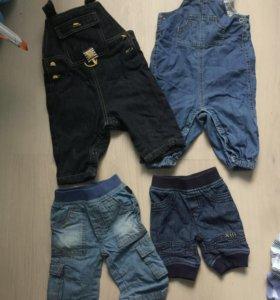 Джинсовая одежда для малыша