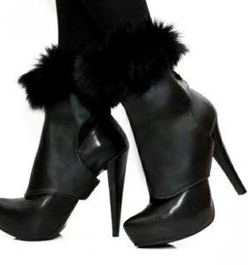 Кокетливые манжеты на обувь