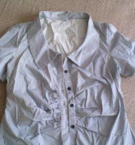 Рубашки, блузки, р 48-50 и 42-44 (S)