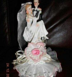 Фигурка на торт свадебная