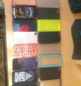 Чехлы на iPhone 4-4s 5-5s