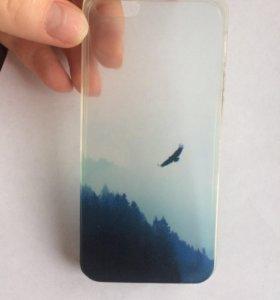 Чехол силиконовый iPhone 5s
