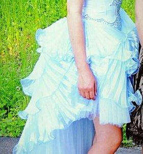 Бальное платье на выпускной,р 44-46,рост 165-170,