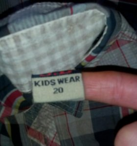 Рубашка мальчик