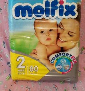 Подгузники Molfix 3-6кг, 80шт