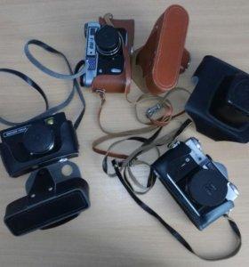 Фотоаппараты пленочные СССР