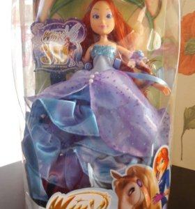 Кукла новая в упаковке.
