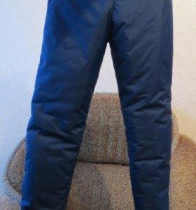 Спортивные зимние брюки новые