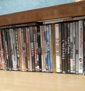 60 шт. DVD диски с фильмами