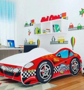 Новая детская кровать-машина 140*70
