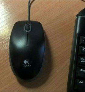 Клавиатура+мышь Logitech