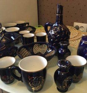 Наборы посуду б/у (фарфор и керамика)