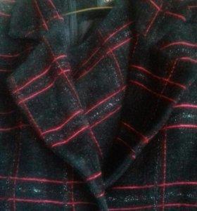 Костюм (платье без рукав+пиджак )46-48