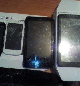 Два планшета и 2телефона