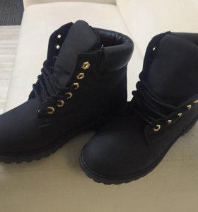 Ботинки под Тимберленд