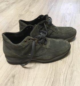 Кроссовки ботинки мужские натуральная замша
