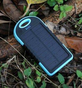 Power bank на солнечной батарее !!! + подарок
