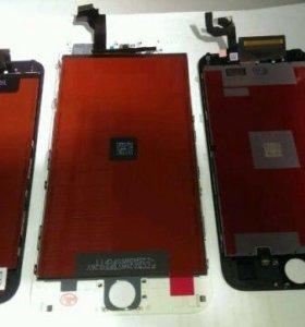 Замена дисплея (модуля) iPhone 6S/чёрный/белый/3D
