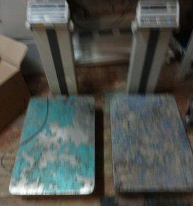 Весы напольные CAS ND-300 б/у на 300 кг