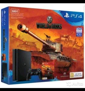 Игровая консоль PlayStation 4 500Gb+ World Of Tank