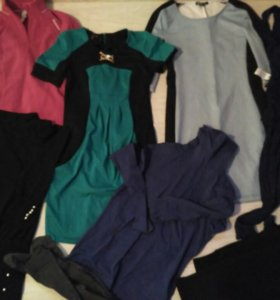 Большой пакет модной одежды