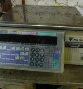 Весы Digi sm 80 с принтер чеком