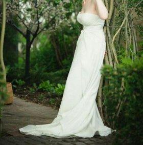 Свадебное платье 46р