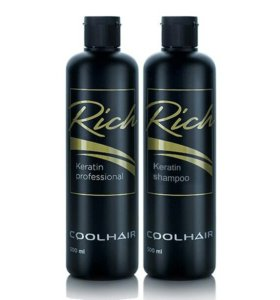 Кератин Rich Cool Hair набор для выпрямления волос