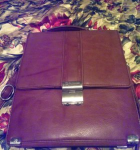 Кожаный портфель Benluna