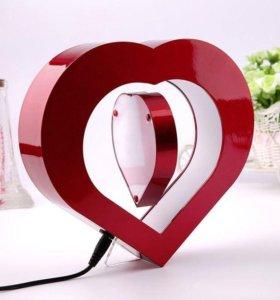 Электромагнитная фоторамка Love hearts.