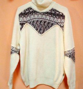 Полушерстяной свитер, 50-52