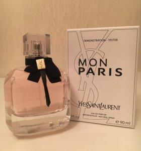 "🎁Yves Saint Laurent ""Mon Paris"", 90 ml (тестер)"