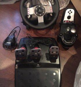 Logitech g27 учебно-игровой руль для пк.