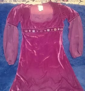 Платье новое под бархат