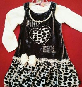 🌼 Комплект на девочку.