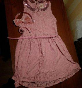 СРОЧНО! Платье с комплектом