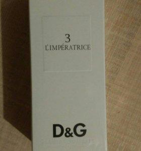 D&G l' imperatrice 100 мл,новый