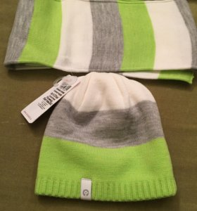 Шапка и шарф (новые)
