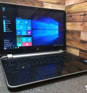 Мощный 4-х ядерный игровой ноутбук HP core i7
