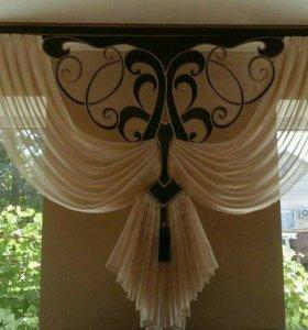 Пошив штор, шикарные ткани для штор