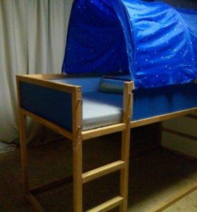 Кровать Кюра (Ikea)