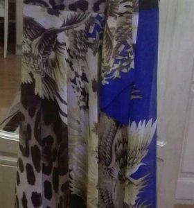 Платье длинное 46-48 р