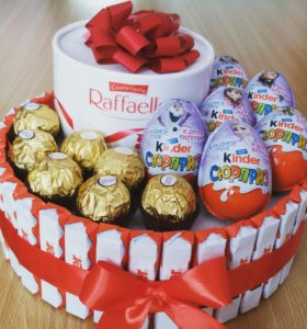 Тортик из шоколада