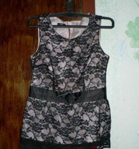 Кофта блузка без рукавов