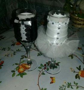 Свадебные бокалы и не только