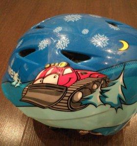 Шлем горнолыжный детский 52-54размер