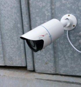 Установка видеонаблюдения и сигнализаций