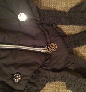 Тёплые брюки, 104 см, 500