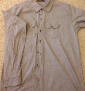 Трикотажная мужская рубашка