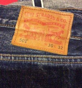 Levis 501 джинсы